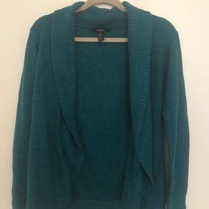 Longer sleeve sweater
